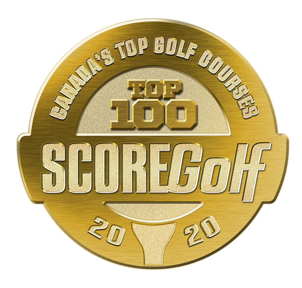 Among Canada's Top 100 Golf Courses!